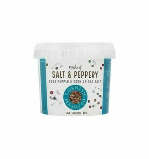 Cornish Sea Salt Co-Salt & Peppery - 185g