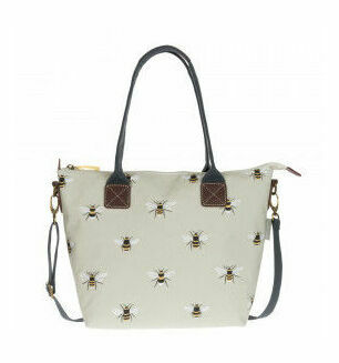 Sophie Allport Bees Mini Oilcloth Oundle Bag
