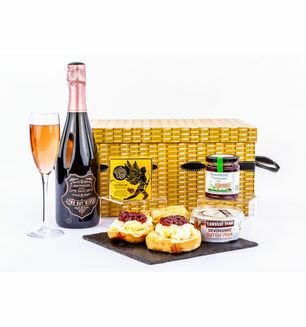 Cream Tea & Bubbly Hamper