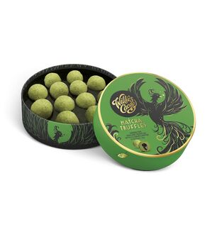 Willies Green Tea Chocolate Truffles - 110g