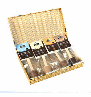 Cornish Chocolate Spoon Letter Box Gift Hamper