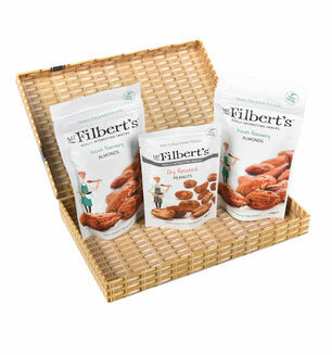 Almonds & Peanuts Letter Box Gift