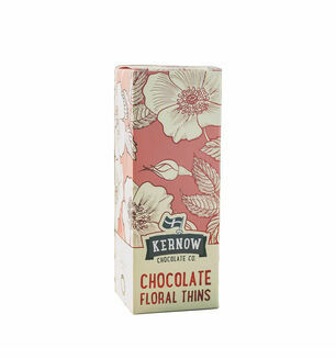 Kernow Chocolate Floral Thins