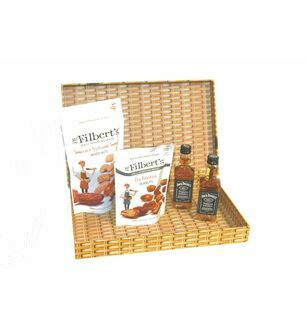 Whiskey & Nuts Letter Box Gift