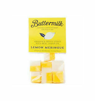 Cornish Buttermilk Lemon Meringue Fudge