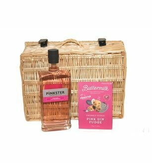 Pinkster Gin And Fudge Hamper