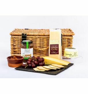 Devon Cheese and Biscuits Hamper