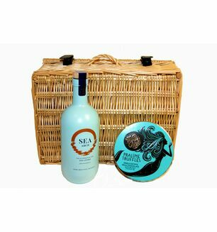 Sea Arch Gin And Sea Salt Truffle Hamper
