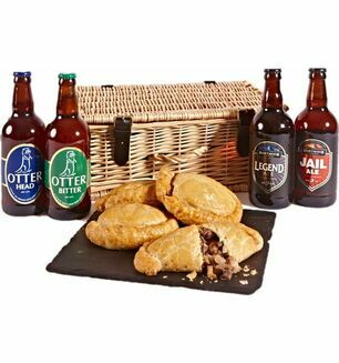 Devon Ales & Pasties Hamper