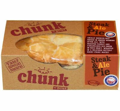 Chunk Devon Steak & Ale Pie