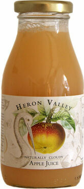 Heron Valley Naturally Cloudy Apple Juice