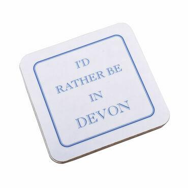 I'd Rather Be In Devon Coaster