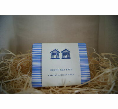 Devon Sea Salt Handmade Soap