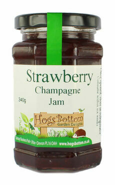 Strawberry Champagne Jam 340g