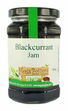 Hogs Bottom Blackcurrant Jam 340gm