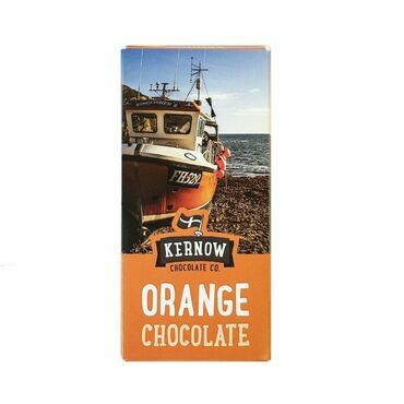 Kernow Orange Milk Chocolate-100g