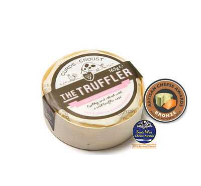 The Truffler Cornish Truffle Brie-165g