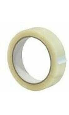 Clear 1 Inch Tape Sellotape 25mm x 66m