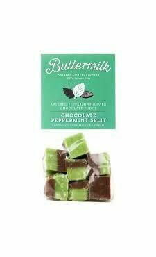 Cornish Buttermilk Peppermint & Dark Chocolate Fudge