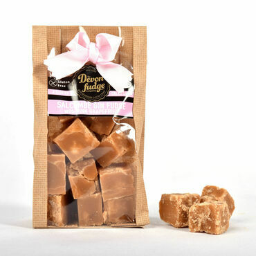 Hand made Salcombe Gin & Pink Grapefruit Fudge