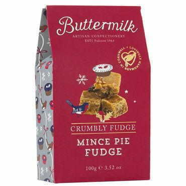 Cornish Buttermilk Mince Pie Fudge