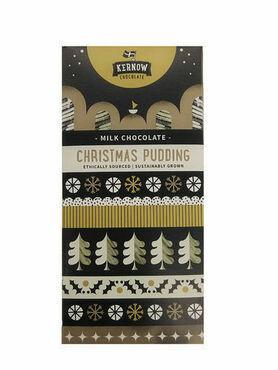 Kernow Christmas Pudding Milk Chocolate