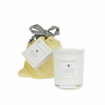 Sophie Allport Bees Honey Spiced Lavender Candle