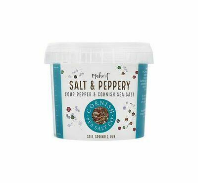 Cornish Sea Salt Co-Salt & Peppery - 185g