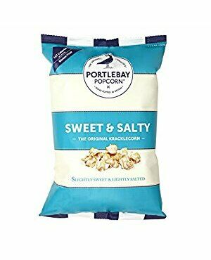 Portlebay Popcorn - Kracklecorn - The Crunchy Classic.  75g