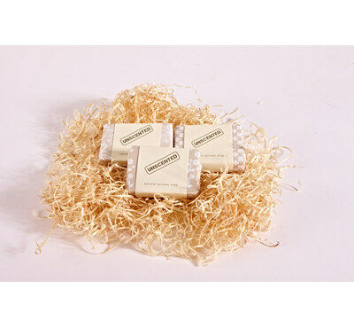 3 Bars of Unscented Hand Made Soap