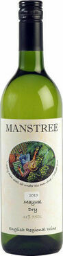 Manstree Mayval Dry White Wine 75cl.  11%