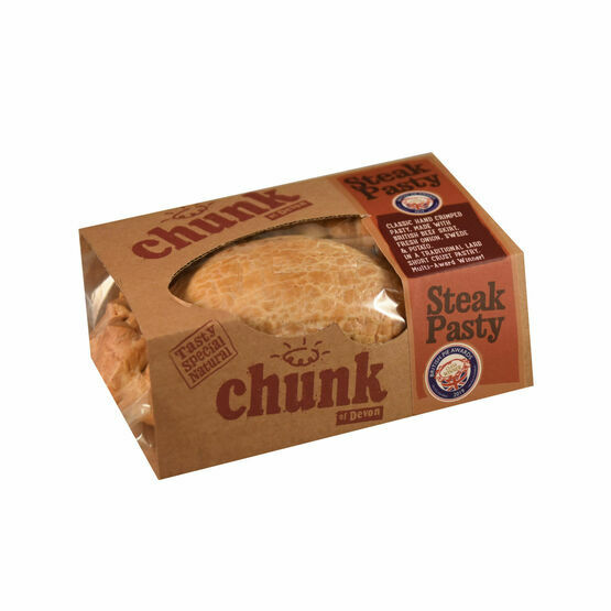 Chunk Devon Steak Pasty - 260g Baked