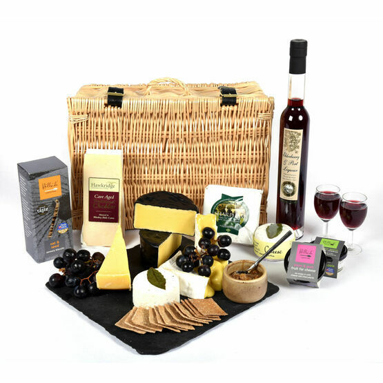 Devon Cheese & Port Hamper