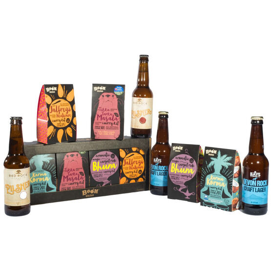 Curry & Lager Hamper