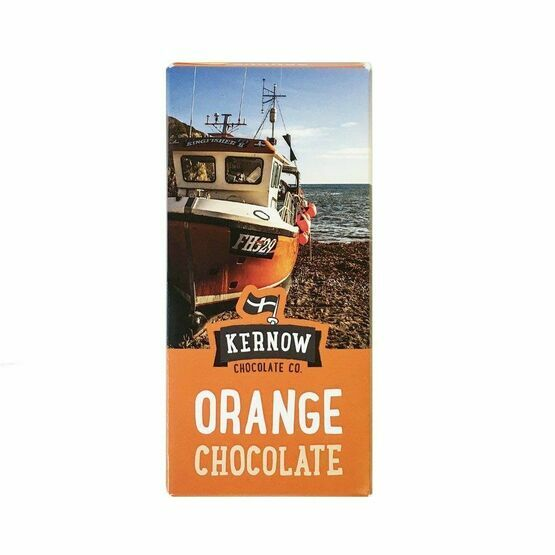 Kernow Orange Milk Chocolate-100g