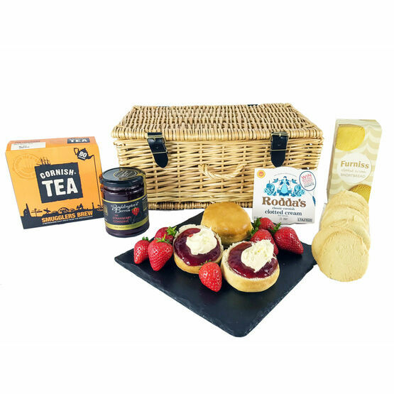 Cornish Strawberry Cream Tea Hamper
