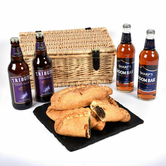 Cornish Ales & Pasty Hamper