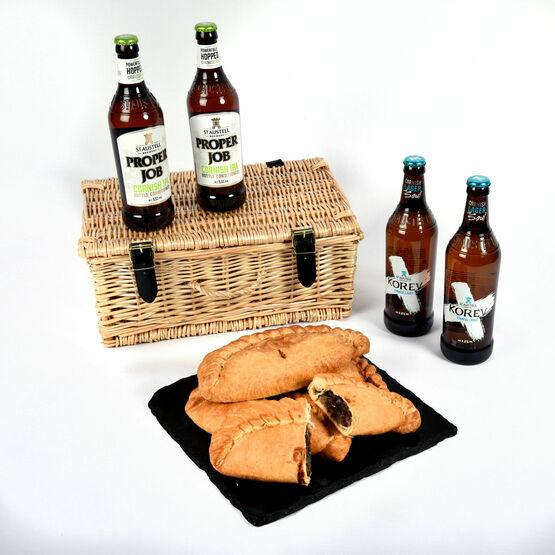 Cornish Pasty IPA Beer & Lager Hamper