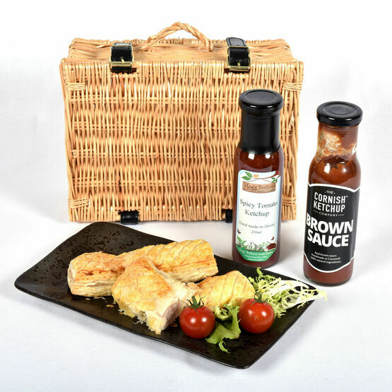 Sausage Roll And Ketchup Hamper