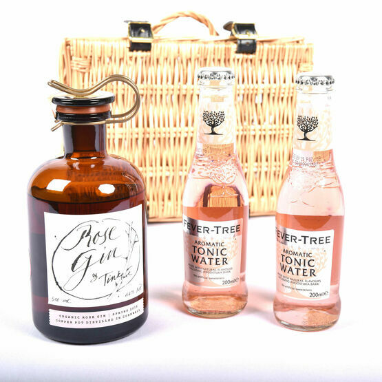 The Tinkture Rose Gin Hamper