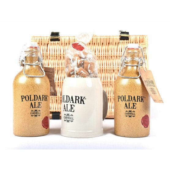 The Poldark Ale, Mug & Cornish Cream Fudge Hamper