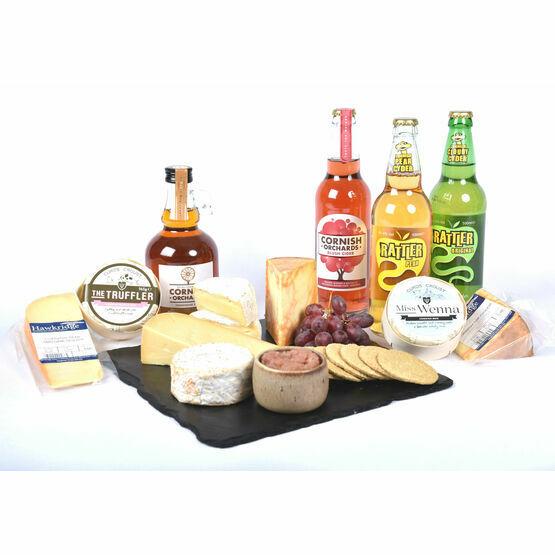 Cornish Cheese and Cider Hamper