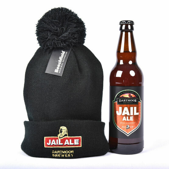Dartmoor Brewery Jail Ale and  Jail Ale Fine Knit Beanie Hat