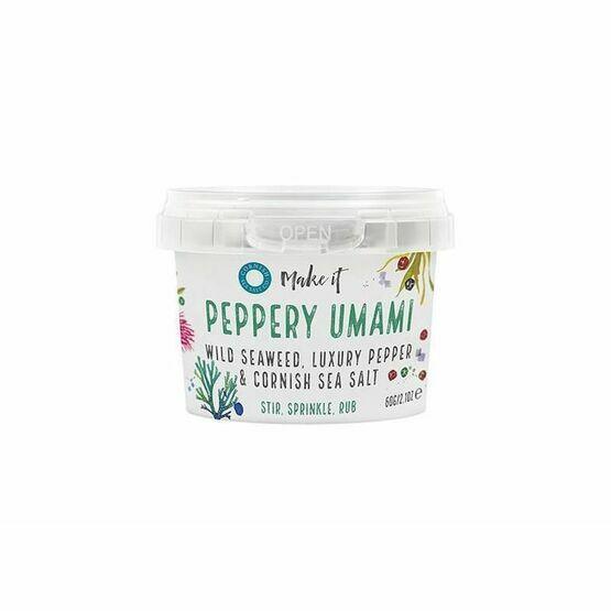 Cornish Sea Salt Co-Peppery Umami - 40g