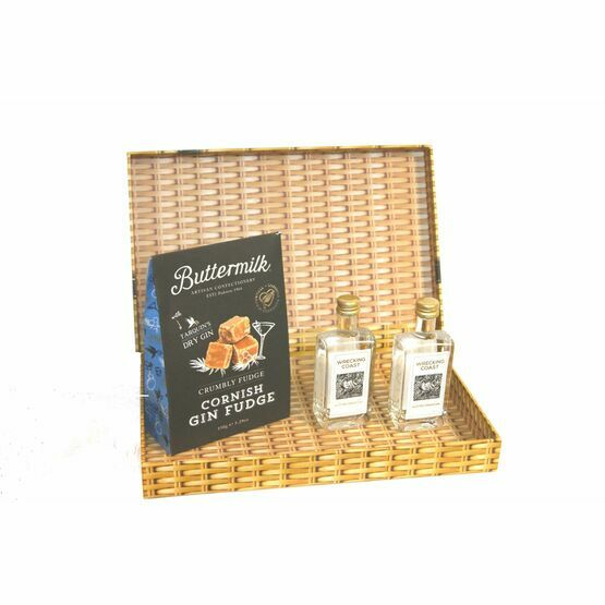 Gin & Fudge Letter Box Gift