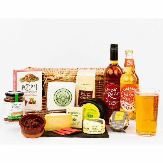 Devon Cheese and Cider Hamper