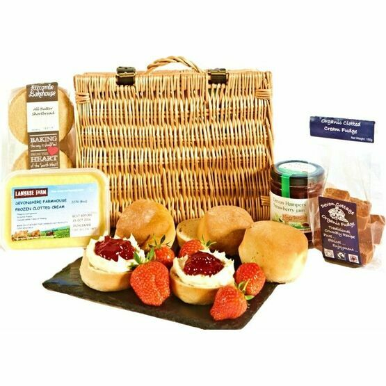 Devon Cream Tea Hamper